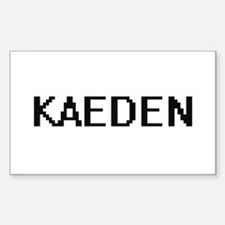 Kaeden Digital Name Design Decal
