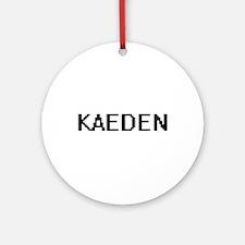 Kaeden Digital Name Design Ornament (Round)