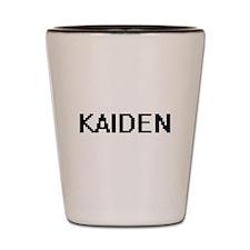 Kaiden Digital Name Design Shot Glass