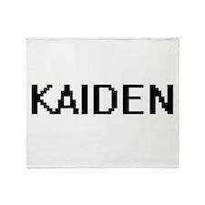 Kaiden Digital Name Design Throw Blanket