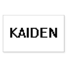 Kaiden Digital Name Design Decal