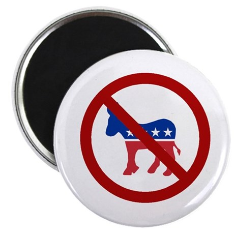 "Anti-Donkey 2.25"" Magnet (100 pack)"