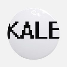 Kale Digital Name Design Ornament (Round)