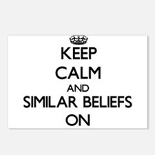 Keep Calm and Similar Bel Postcards (Package of 8)