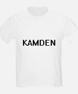Kamden Digital Name Design T-Shirt