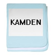 Kamden Digital Name Design baby blanket