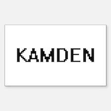 Kamden Digital Name Design Decal
