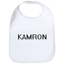 Kamron Digital Name Design Bib