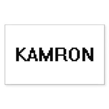 Kamron Digital Name Design Decal