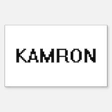 Kamron Digital Name Design Decal