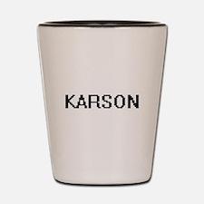 Karson Digital Name Design Shot Glass