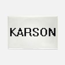 Karson Digital Name Design Magnets