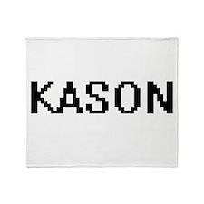 Kason Digital Name Design Throw Blanket