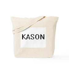 Kason Digital Name Design Tote Bag