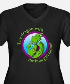 The dragon with the hula girl ta Plus Size T-Shirt