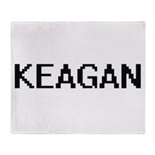 Keagan Digital Name Design Throw Blanket