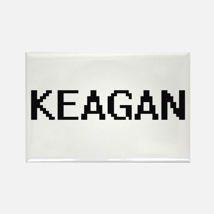 Keagan Digital Name Design Magnets