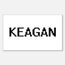 Keagan Digital Name Design Decal