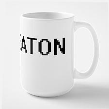 Keaton Digital Name Design Mugs