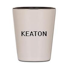 Keaton Digital Name Design Shot Glass