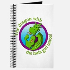 The dragon with the hula girl tattoo Journal