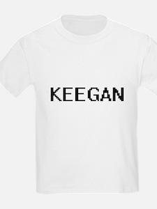 Keegan Digital Name Design T-Shirt