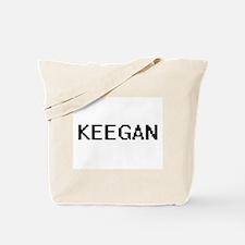 Keegan Digital Name Design Tote Bag