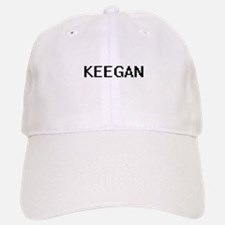 Keegan Digital Name Design Baseball Baseball Cap