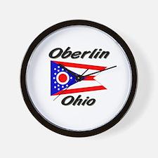 Oberlin Ohio Wall Clock
