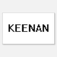 Keenan Digital Name Design Decal