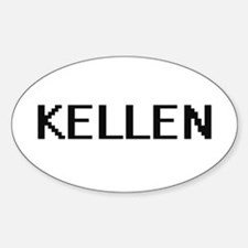 Kellen Digital Name Design Decal
