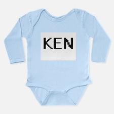 Ken Digital Name Design Body Suit