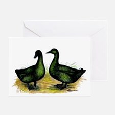 Cayuga Ducks Greeting Card