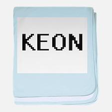 Keon Digital Name Design baby blanket