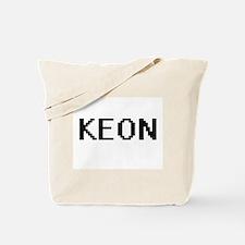 Keon Digital Name Design Tote Bag