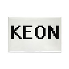 Keon Digital Name Design Magnets
