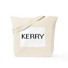 Kerry Digital Name Design Tote Bag