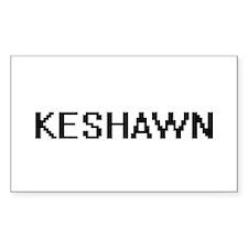Keshawn Digital Name Design Decal