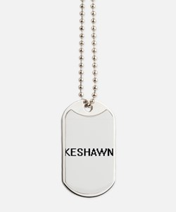 Keshawn Digital Name Design Dog Tags