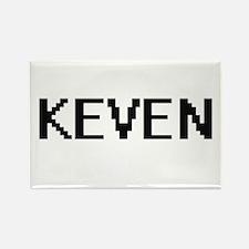 Keven Digital Name Design Magnets
