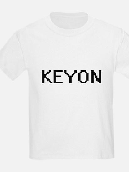 Keyon Digital Name Design T-Shirt