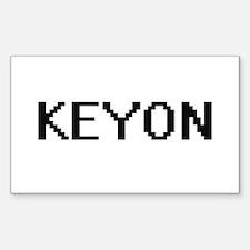 Keyon Digital Name Design Decal