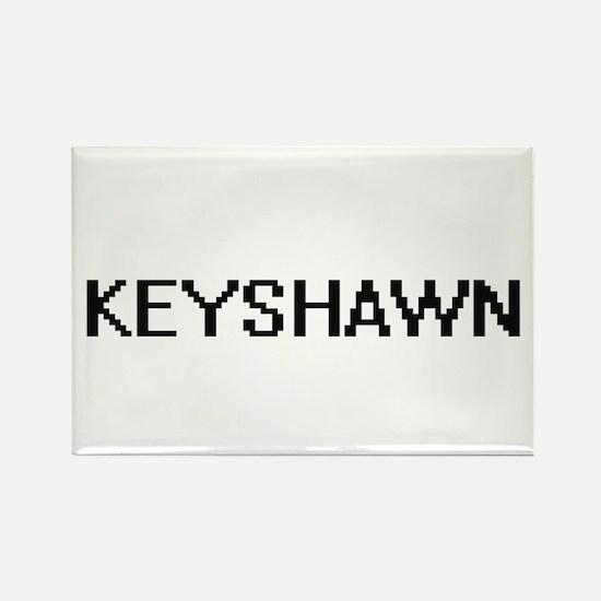 Keyshawn Digital Name Design Magnets