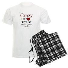 American Water Spaniel Pajamas