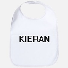 Kieran Digital Name Design Bib