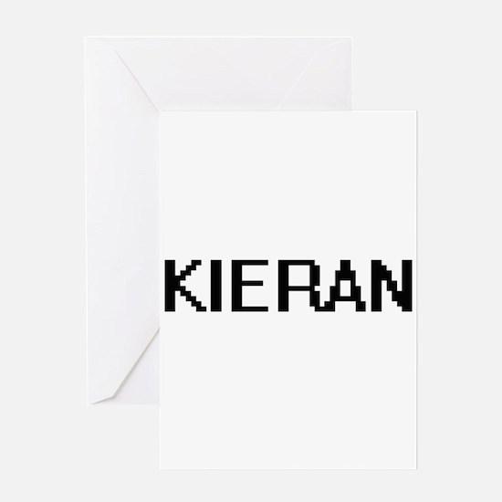 Kieran Digital Name Design Greeting Cards