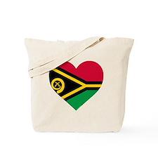 Vanuatu Flag Tote Bag