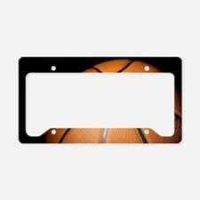 Basketball Ball License Plate Holder
