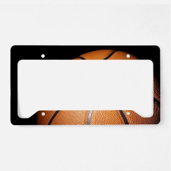 Basketball Ball License Plate Holder