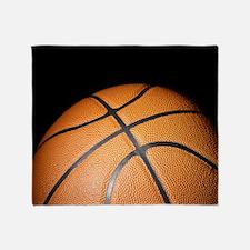 Basketball Ball Throw Blanket